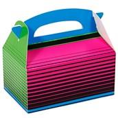 Neon Multicolor Empty Favor Boxes (4)