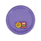 New Purple Big Party Pack Dessert Plates