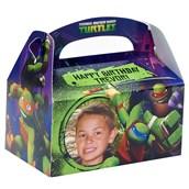 Nickelodeon Teenage Mutant Ninja Turtles - Personalized Empty Favor Boxes (8)