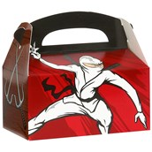 Ninja Warrior Party Empty Favor Boxes