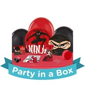 Ninja Warrior Party in a Box For 8