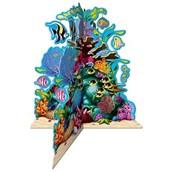 "Ocean Coral Reef 3-d Centerpiece 10"" (1)"