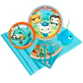 Octonauts 16 pc Guest Pack Plus Molded Cups