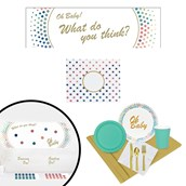Oh Baby Gender Reveal All Inclusive Party Kit
