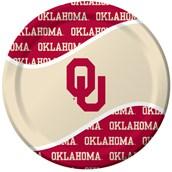 Oklahoma Sooners Dinner Plates