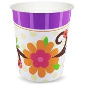 Owl Blossom 9 oz. Paper Cups