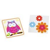 Owl Blossom Tattoos