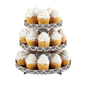 Paris Damask Cupcake Stand