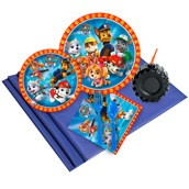 Paw Patrol Boy 16 Guest Party Pack Plus Molded Cups