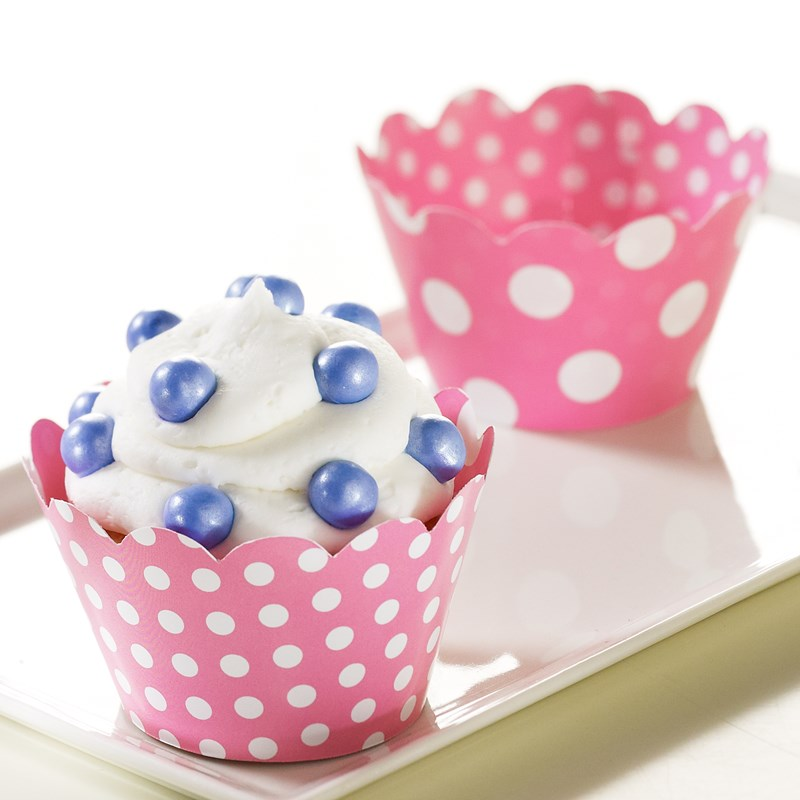 A Cupcake Themed 1st Birthday Party With Paisley And Polka: Cupcake Party Decorations And Cupcake Favors
