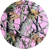 Pink Camo Dinner Plates (8)