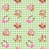 Pink Cowgirl Jumbo Gift Wrap