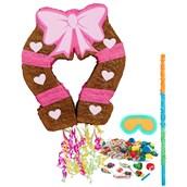 Pink Cowgirl Pinata Kit
