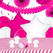 Pink Flamingo Party Deco Kit