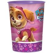 Pink Paw Patrol Girl 16oz Favor Cup