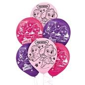 Pink Paw Patrol Girl Theme Latex Balloon (6)