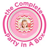 Pink! Personalized Party in a Box