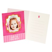 Pink! Personalized Thank-You Notes (8)
