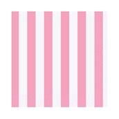 Pink Stripe Beverage Napkins