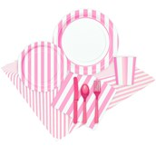 Pink Stripe Party Pack