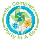 Pinwheel Boy 1st Party in a Box