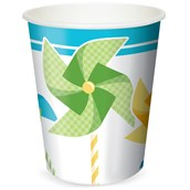 Pinwheel Boy 9 oz. Paper Cups