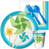 Pinwheel Boy Snack Party Pack