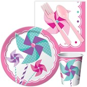 Pinwheel Girl Snack Party Pack