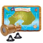 Pirate Adventure Cake Topper (4 Pieces)