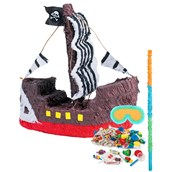 Pirate Ship Pinata Kit