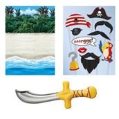 Pirates Inflatable Prop Kit