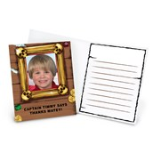 Pirates Personalized Thank-You Notes