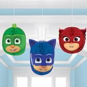 PJ Masks Honeycomb Decorations (3 Piece)