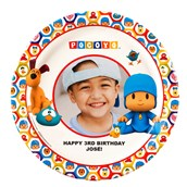 Pocoyo Personalized Dinner Plates