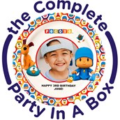 Pocoyo Personalized Party in a Box