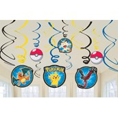 Pokemon Hanging Swirls