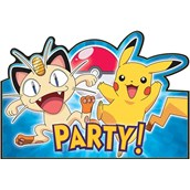 Pokemon Invitation Postcards