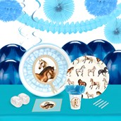 Ponies 16 Guest Tableware & Deco Kit