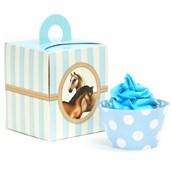 Ponies Cupcake Wrapper & Box Kit