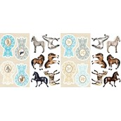 Ponies Small Wall Decorations