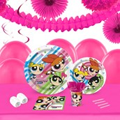 Power Puff Girls 16 Guest Tableware & Deco Kit