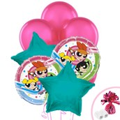Power Puff Girls Balloon Bouquet
