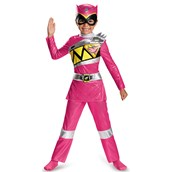 Power Rangers Dino Charge: Deluxe Pink Ranger Costume For Girls