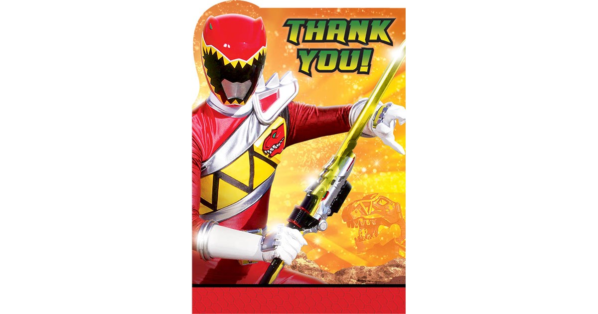 power rangers dino charge thank