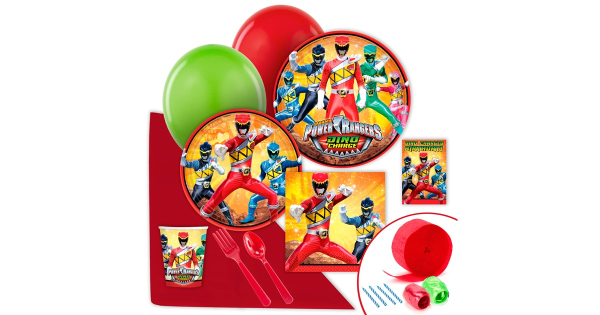 Power rangers dino charge value party pack - Sonic power rangers dino charge ...