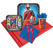 Power Rangers Ninja Steel 16 Guest Party Pack