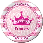 Princess Party Dinner Plates (8)