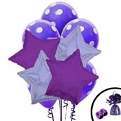 Purple Balloon Bouquet