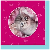 rachaelhale Glamour Cats Lunch Napkins