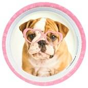 rachaelhale Glamour Dogs Dinner Plates (8)